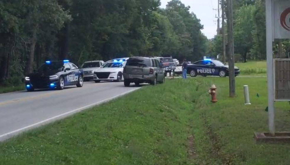 North Charleston Police searched Tuesday morning for a person who ran away during a pursuit.