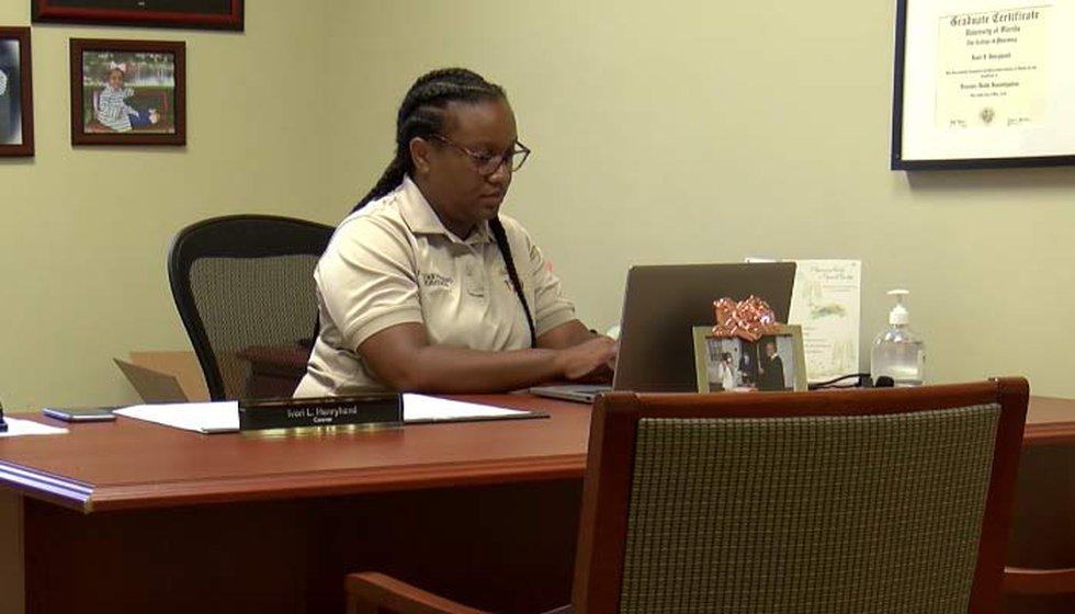 Williamsburg County Coroner Ivori Henryhand took over the coroner's office in January, but says...