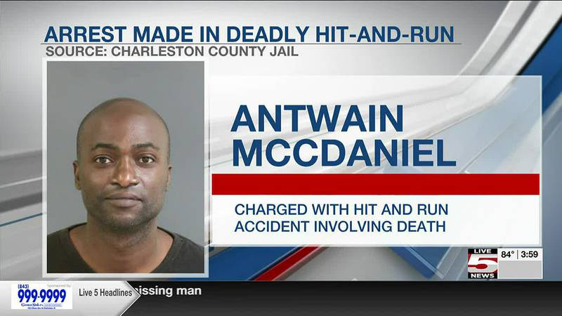 VIDEO: North Charleston Police make arrest in hit and run case, vehicle still missing