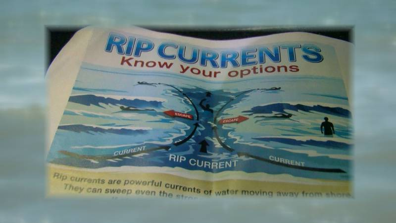 Know what to do if you see a rip current