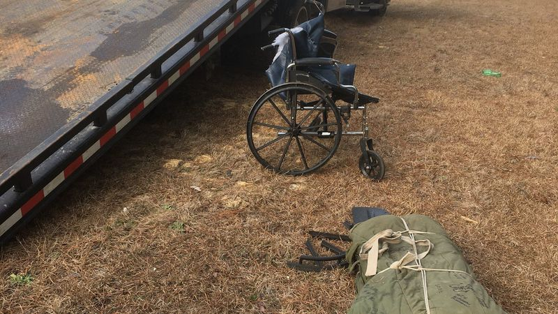 A person in a wheelchair was struck by a vehicle in Georgetown County. (Source: Live 5)