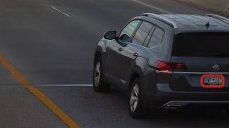 The car that Mount Pleasant Police are searching for