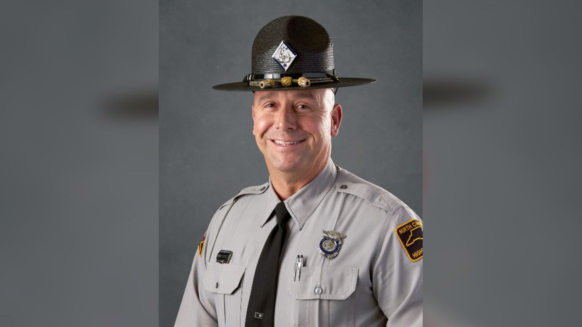 """Officials say Trooper James Montgomery, better known as """"Brent,"""" of Troop C District 4 - Vance..."""