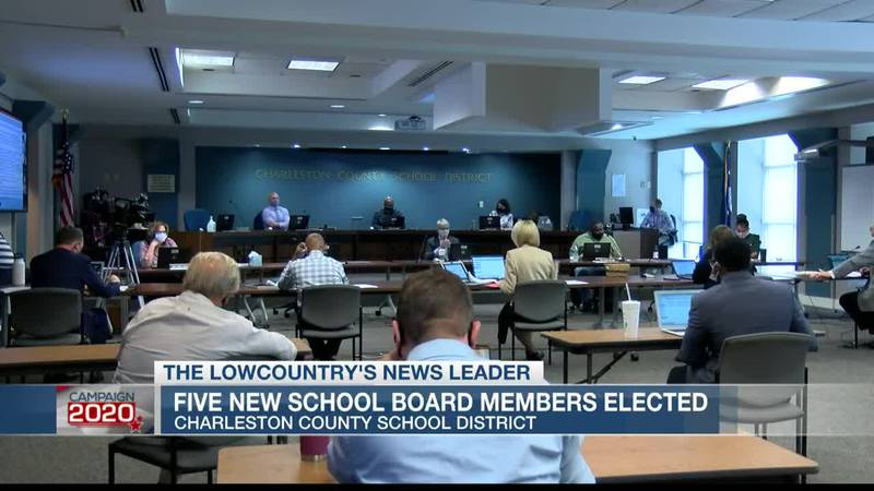 VIDEO: 5 new Charleston Co. School Board members elected, 3 incumbents ousted