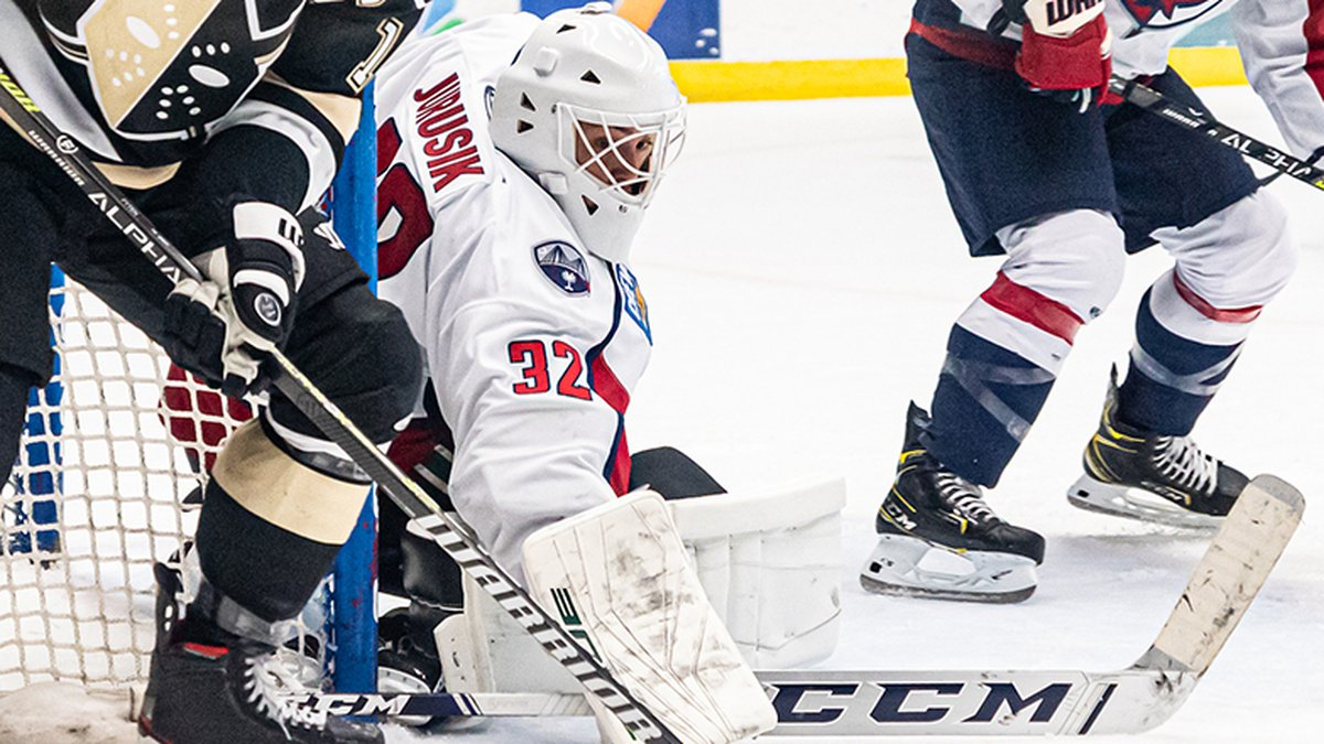 In his first professional start, which came over a year since his last game action, goaltender...