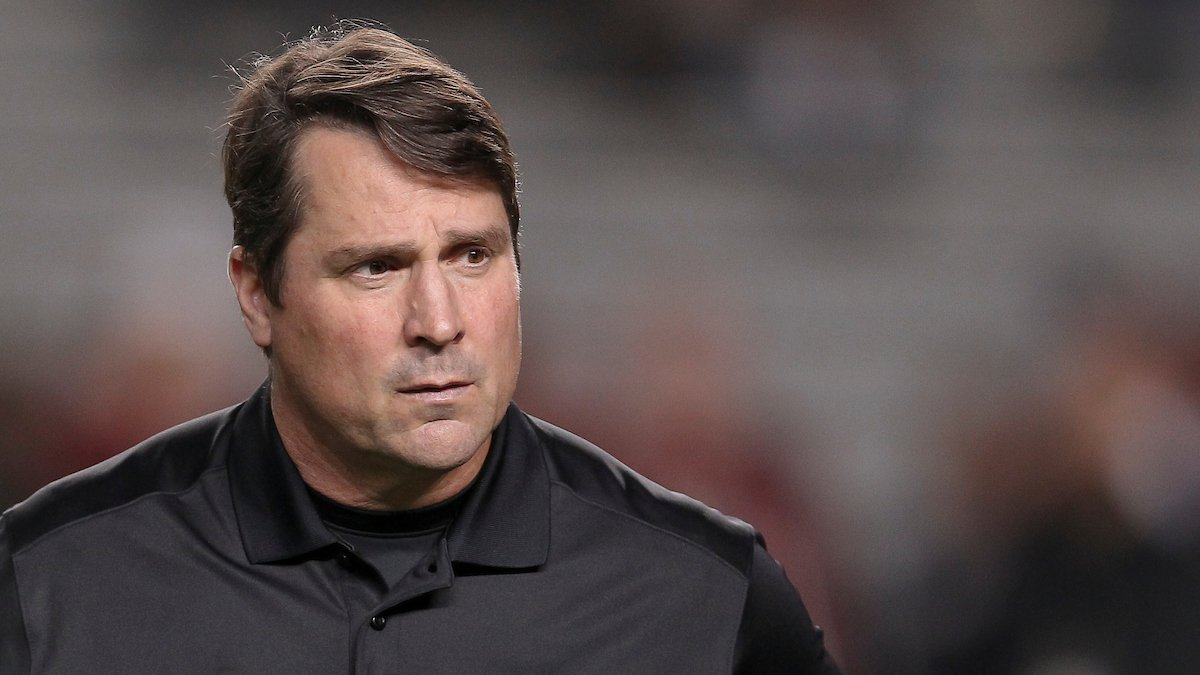 South Carolina head coach Will Muschamp is seen before the Vanderbilt game in Columbia, S.C. on...