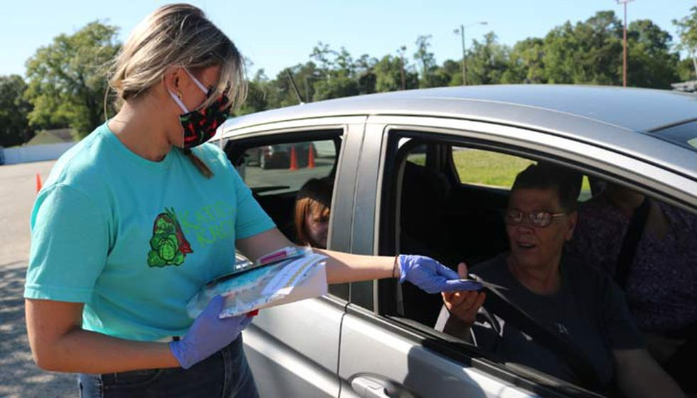 Katie's Krops is now hosting free meal distributions every Thursday in Summerville.