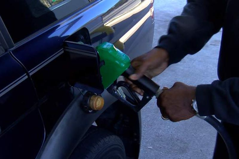 Pump prices ranged from $2.42 to $3.45 per gallon in the state, a GasBuddy report states.