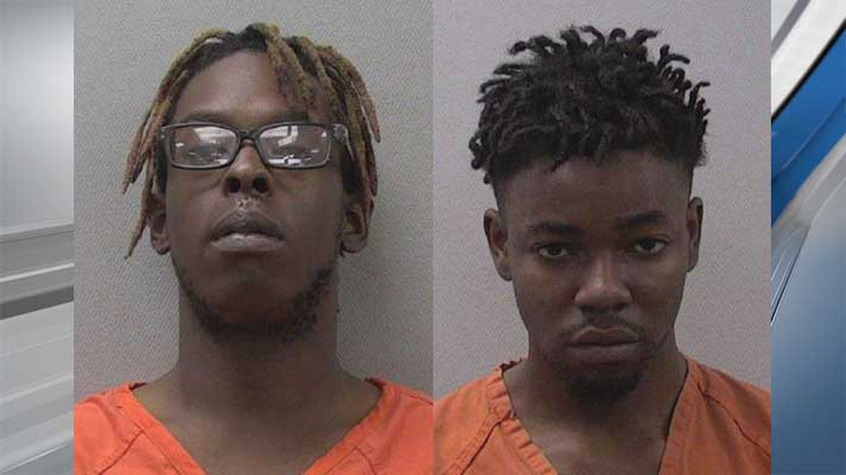 Jose Haygood (left) and Xavier Golson (right) were arrested and charged in the shooting.