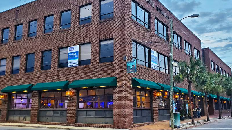The Carroll Building on East Bay at the Market has housed restaurants like Hooked Seafood,...