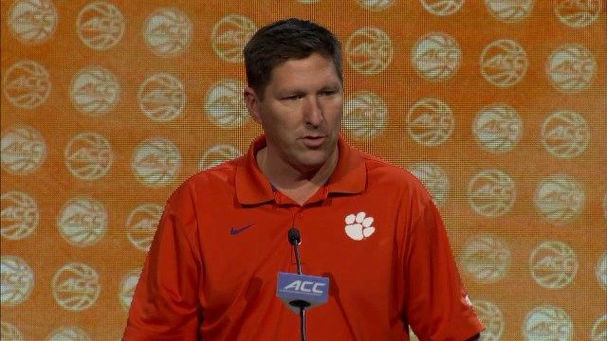 RAW: Clemson's Brad Brownell at ACC Media Day