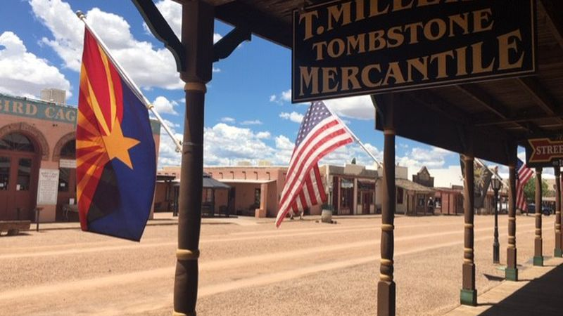 Tombstone Mayor Dusty Escapule says COVID-19 is crippling the tourism in the historic town.