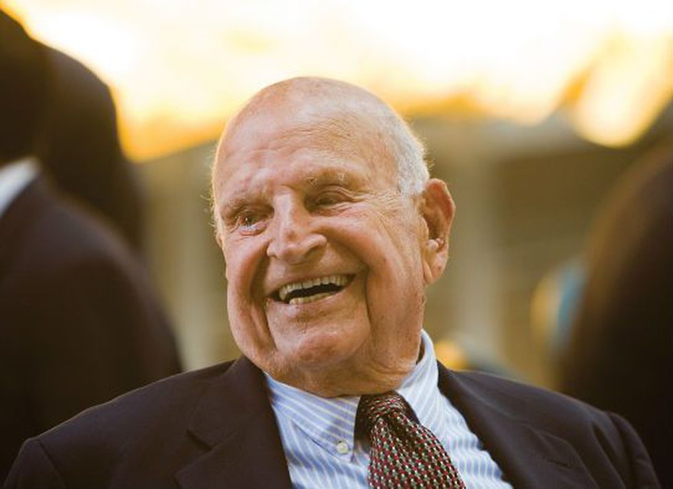 Dr. Stern just celebrated his 100th birthday. (Source: CofC)