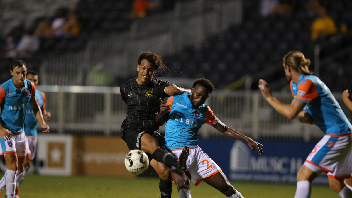The Charleston Battery won their first game at home in front on fans on Wednesday beating Miami...