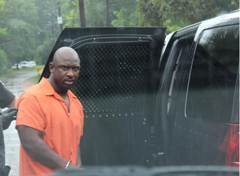 Colleton Co. deputies transport Hampton after being served warrants charging him with murder on...
