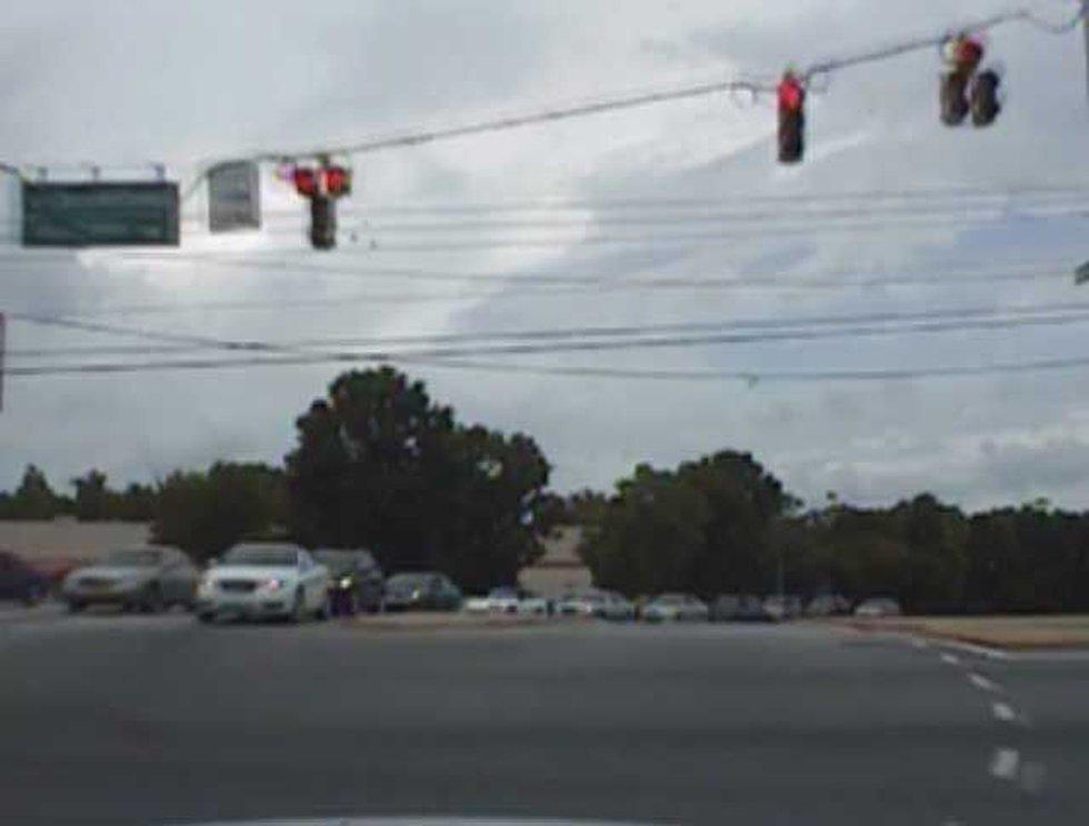 Still from dash camera video.