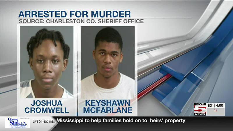 VIDEO - Police make two additional arrests in Johns Island double homicide
