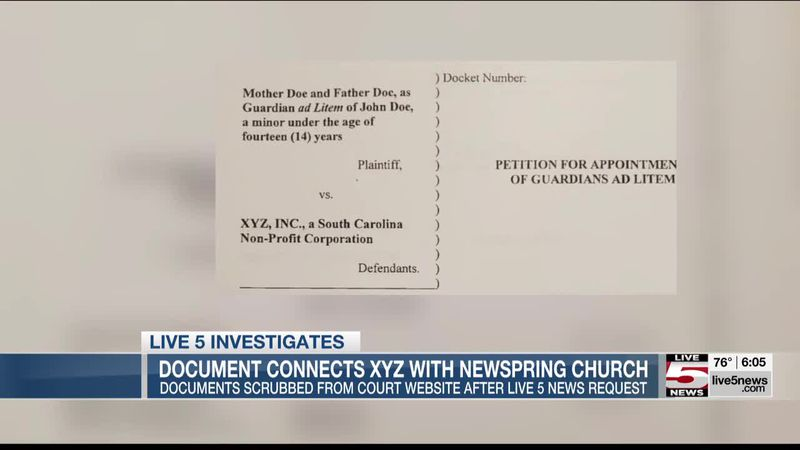 VIDEO: Recently filed settlement names North Charleston church