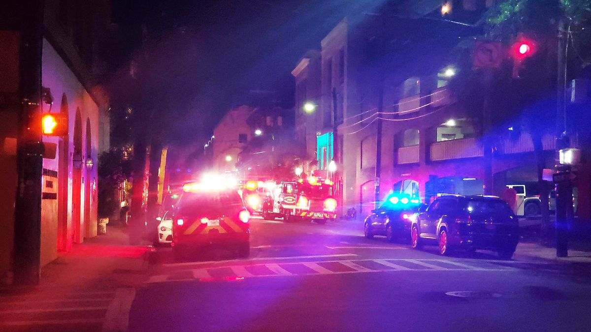 Officials with the Charleston Fire Department said discarded smoking material likely caused a...