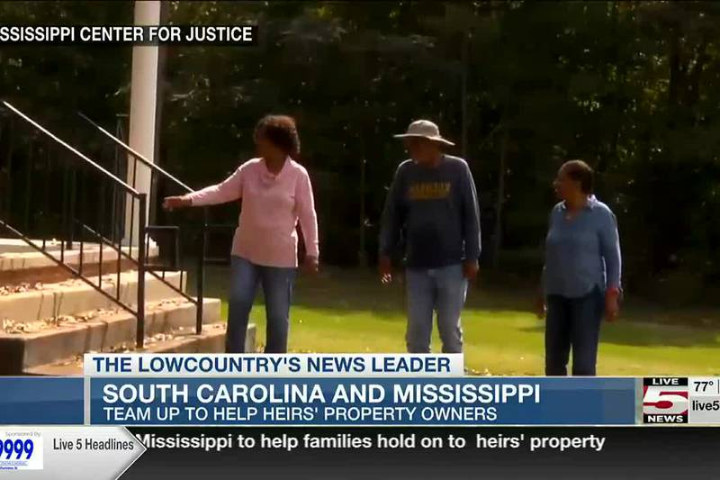 VIDEO: SC group partners with Mississippi to help families hold on to  heirs' property