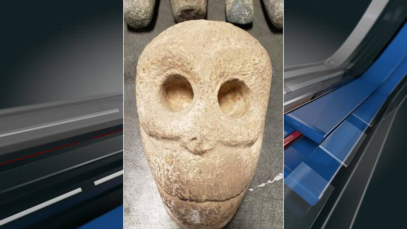 Federal agents intercepted 13 pieces of artifacts from the 10th century that were headed to...