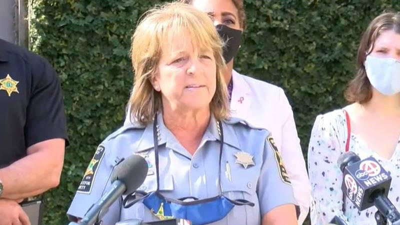 Charleston County Sheriff Kristin Graziano criticized media reports about social media...