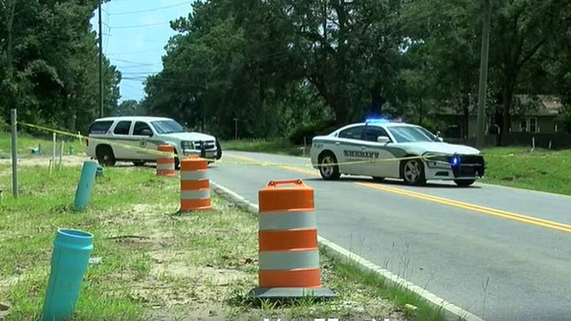 Dorchester County deputies have blocked off a portion of Orangeburg Road where they are...