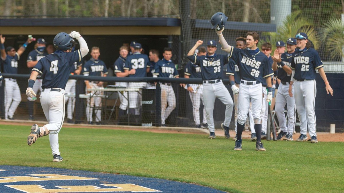 Charleston Southern swept a Saturday doubleheader against UNC Asheville