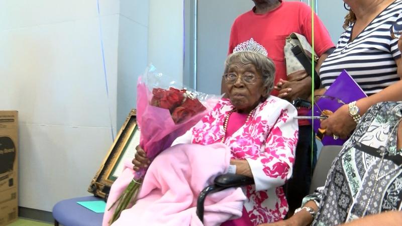 Hester McCardell Ford of Charlotte celebrated her 115th birthday Thursday!