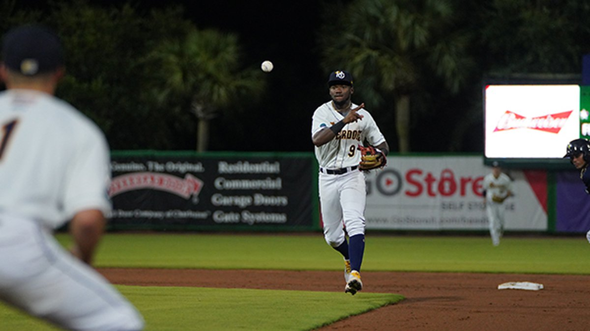 The RiverDogs scored 4 runs in the first en route to a win over Columbia on Thursday