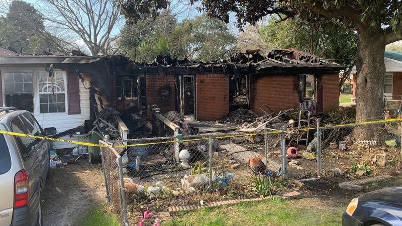 The deadly fire happened around 8 p.m. Friday on Lyttleton Street in Camden.