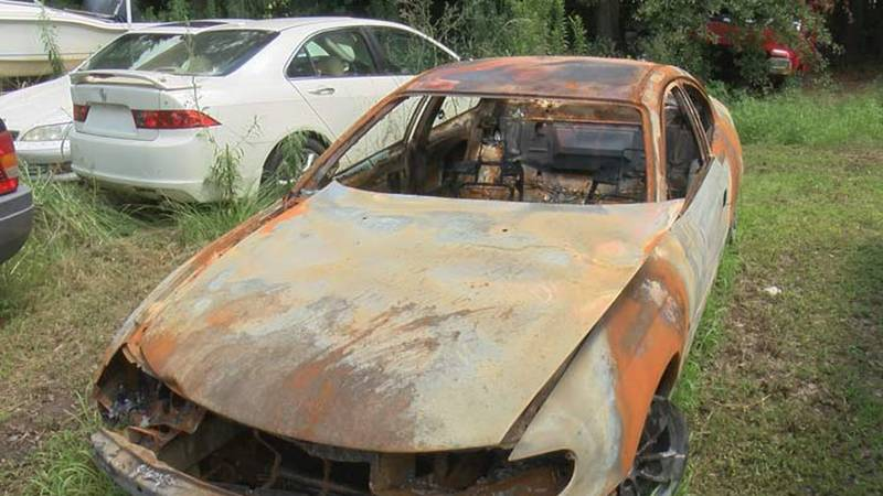 A red 2004 Pontiac GTO towed from a Moncks Corner used car dealership was discovered 11 days...