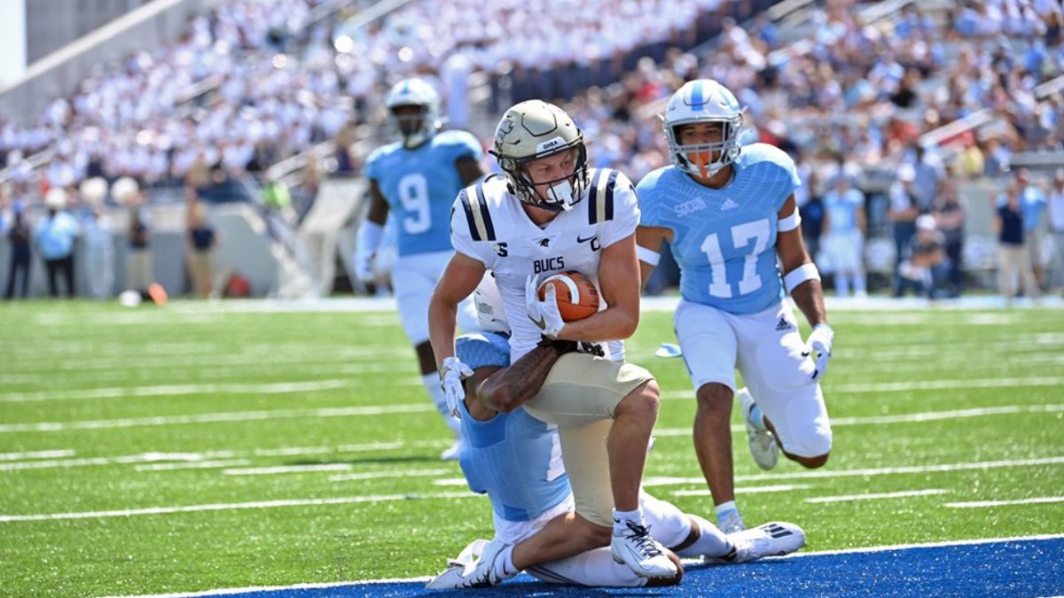 Charleston Southern WR Garris Schwarting was named Big South Offensive Player of the Week on...
