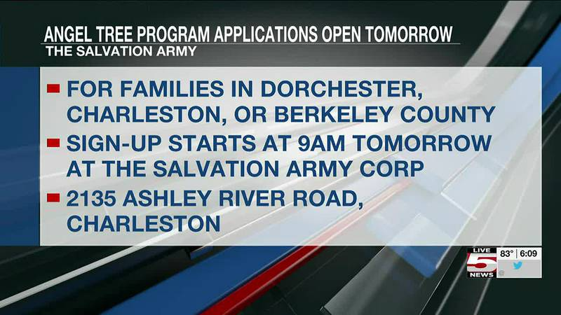 VIDEO: Applications for Angel Tree program open Monday