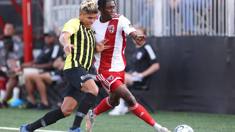 Charleston scored 5 goals en route to a road win over Loudoun United FC on Tuesday