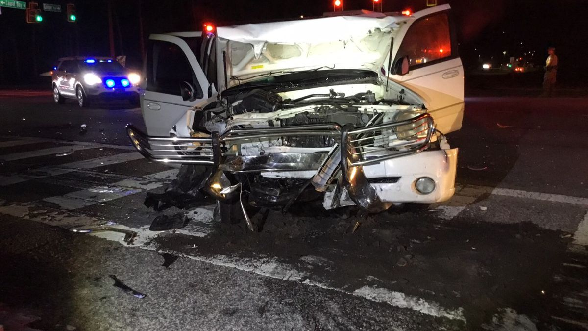 According to Burton Fire District officials, first responders arrived on scene to a two vehicle...