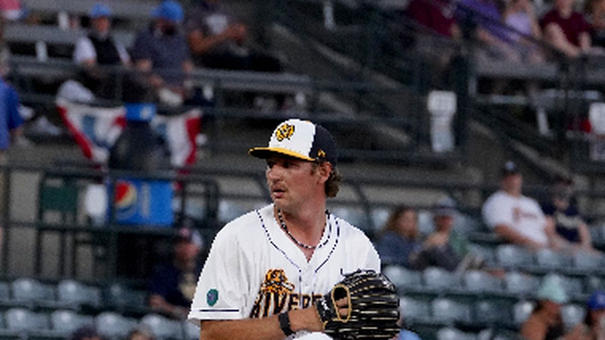The Charleston RiverDogs broke free from a scoreless deadlock with three runs in the eighth...