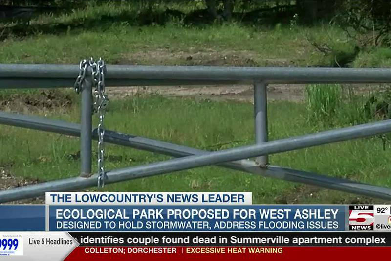 VIDEO: 'Ecological park' planned for site of former West Ashley townhomes torn down due to...