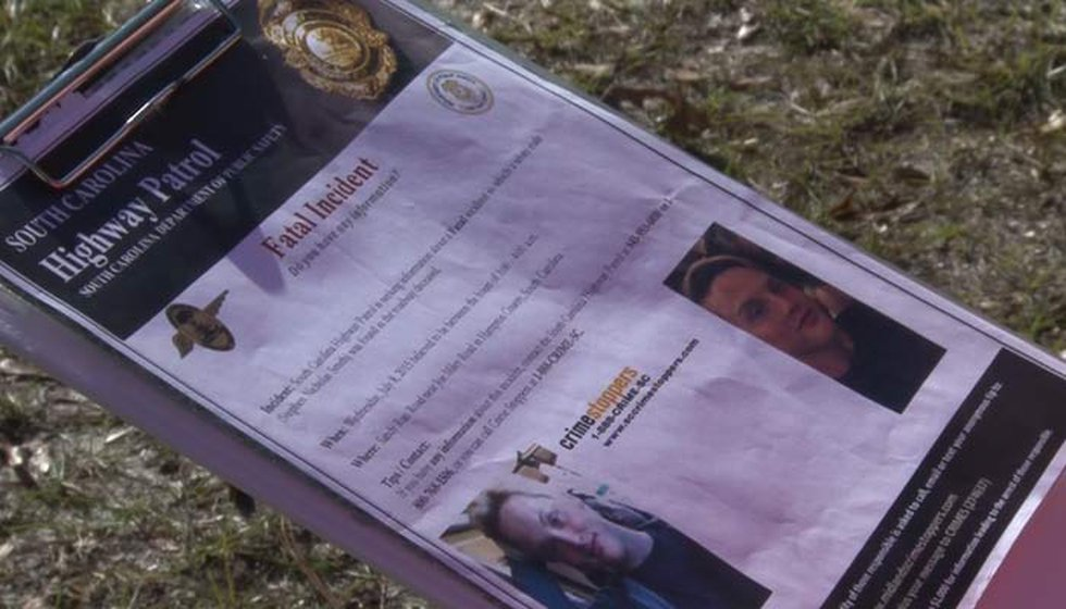 The South Carolina Highway Patrol released a flyer after Smith's death seeking information.