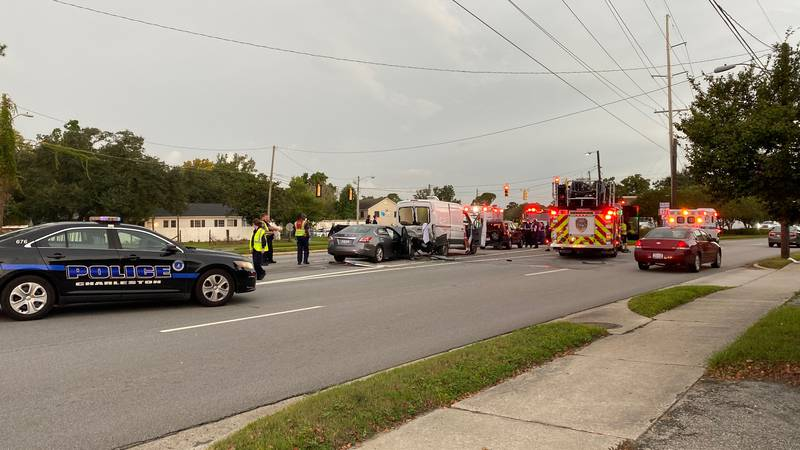 Police say the crash happened on Highway 61 at the intersection with Old Towne Road.