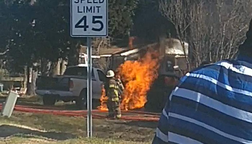 A Berkeley County K9 unit burns after a collision that killed the driver of a second vehicle,...
