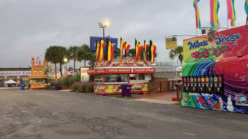 Final preparations are underway ahead of the opening of the 62nd Coastal Carolina Fair.