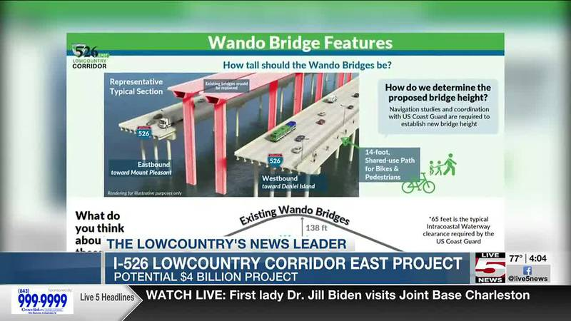 VIDEO: I-526 Lowcountry corridor east project