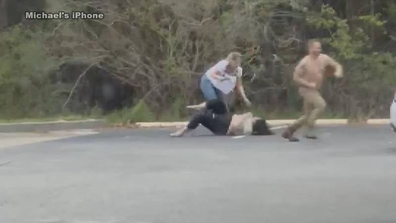 Video of part of the attack was shared with WIS.