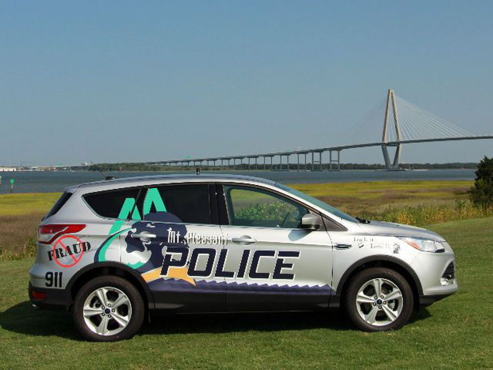 Mount Pleasant police will display one of their newest crimefighting tools, a Crime Prevention...