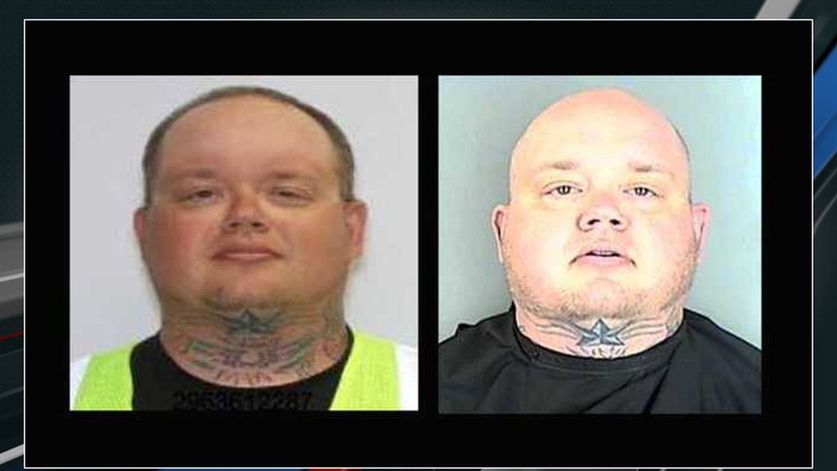 Deputies released two photos of Jeffrey David Powell, 36, who they consider a person of...
