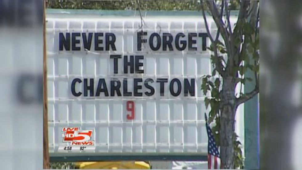 The community mourned the loss of nine Charleston firefighters. (Source: Live 5)