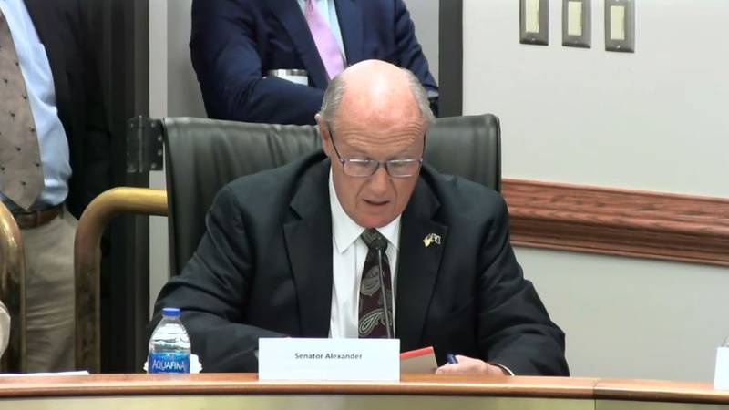 Thomas Alexander at the Joint-Bond Review Committee Meeting on Tuesday