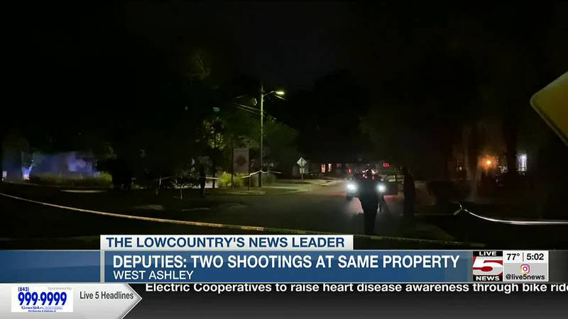 VIDEO: Two juveniles, man shot at the same address in two separate incidents over the weekend