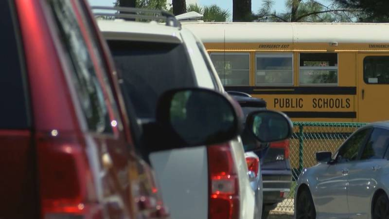 Horry County Schools superintendent Dr. Rick Maxey addresses an increase in student-made...